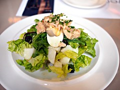 Nicoise Salad, Verre Wine Bar, 8 Rodyk Street