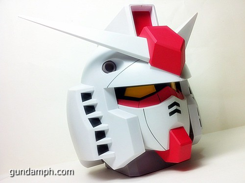 BIG RX-78-2 Gundam Head Coin Bank 30th Anniversary Edition 7-11 (28)