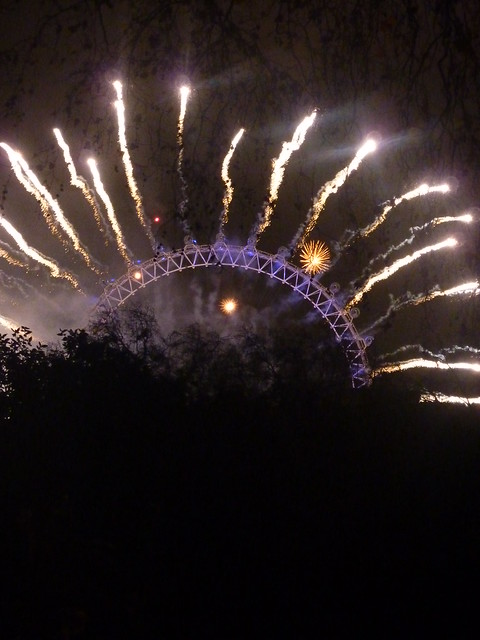 New Years Eve 2011 London