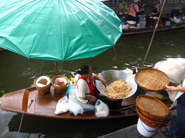 Taling Chan Floating Market