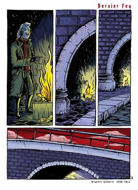 Dernier feu (Last Fire) 2 - BD apocalyptique de Gilderic et J. Bruyère