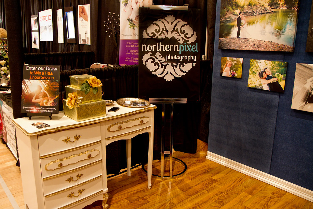 Our Bridal Expo Booth