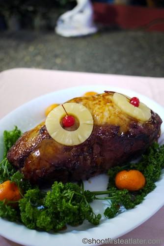 CNY 2012- baked ham
