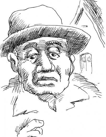 oldman1BW