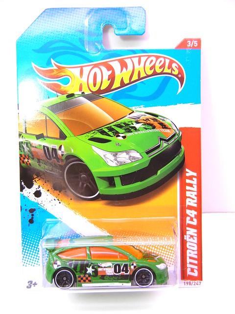 hot wheels citroen c4 rally green (1)
