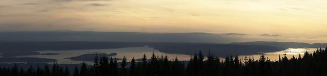 LARGE panorama of Oslofjorden