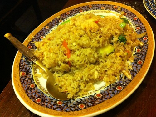 Fried Rice at Ploy Thai