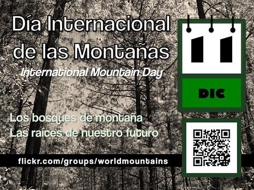 International Mountain Day is December 11 (Día Internacional de las Montañas es 11 diciembre) #imd2011