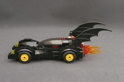 6864 The Batmobile and the Two-Face Chase - Batmobile 4