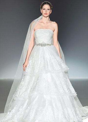 Top 4 Manu Alvarez Princess Wedding Dress