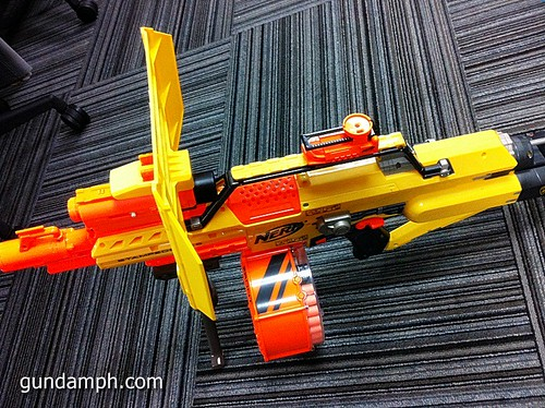 NERF Sale 50% Off Stampede Raider Recon Unboxing Review (78)