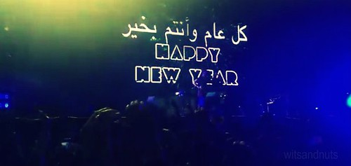 2012 New Year Countdown in Abu Dhabi with Coldplay