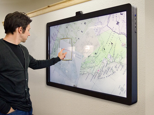 The MT65 Presenter multitouch wall