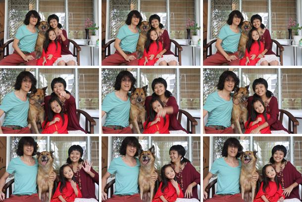 CNY '12 family portrait