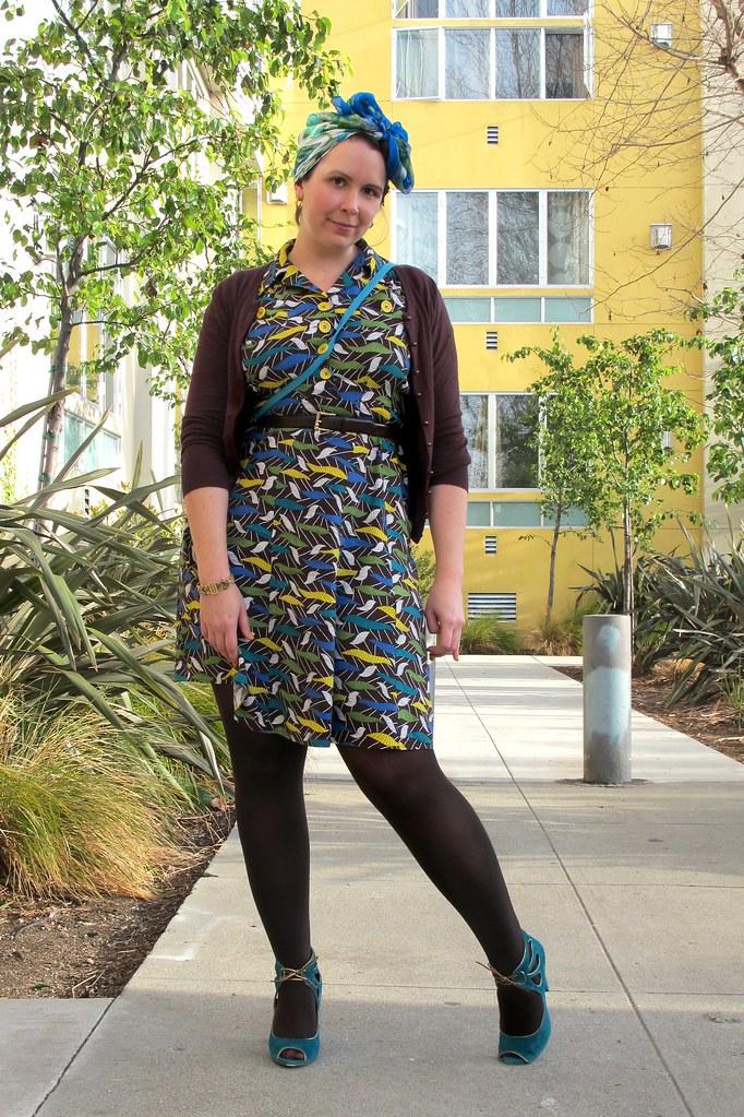 Retro Revamp Dress by Trashy Diva, via ModCloth