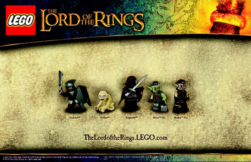 The Lord of the Rings Minifigs