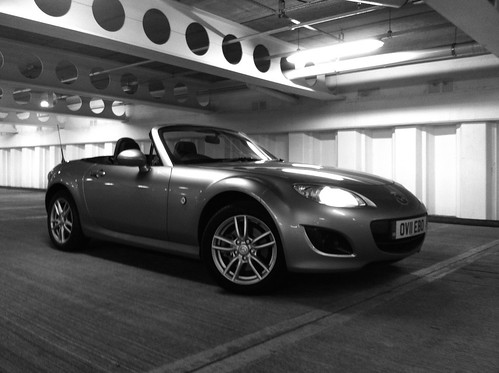 Black & White MX-5 by Lewis Craik