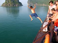 Halong Bay Jump