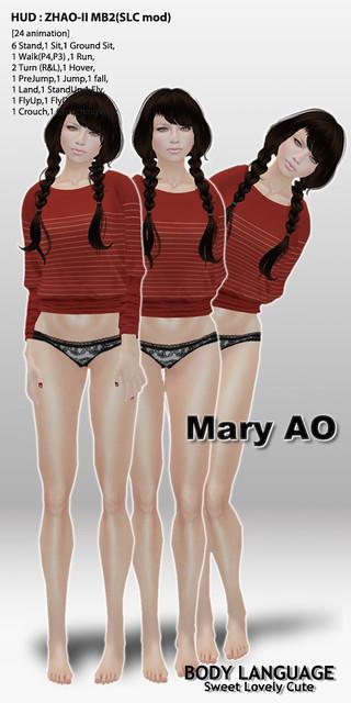 Mary AO set