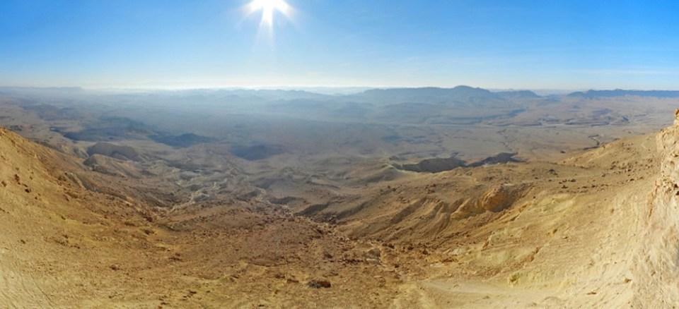 Cráter Ramón en Mitspe Ramón Israel 03