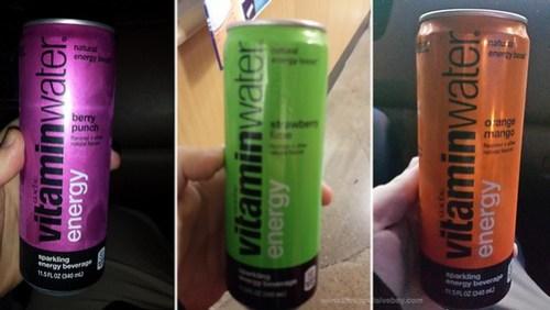 Glaceau VitaminWater Energy 2014