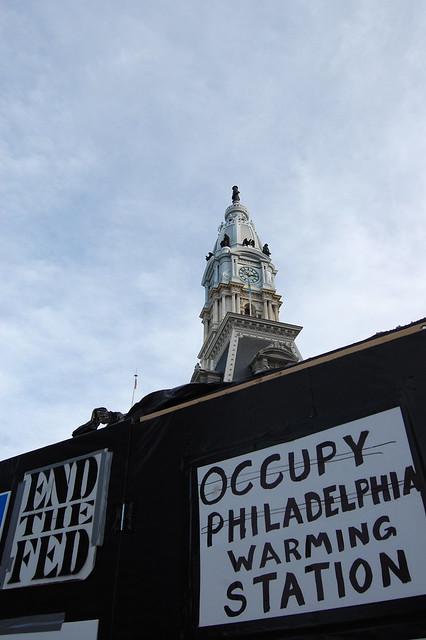 Occupy Philadelphia Warming Station