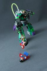 6862 Superman vs Power Armor Lex 9