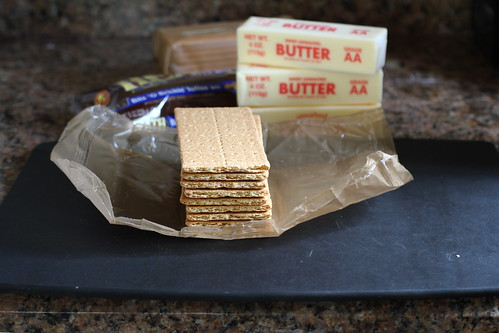 stack of graham crackers