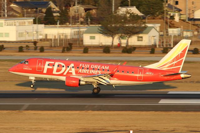FDA Embraer ERJ-170STD(JA01FJ)
