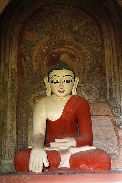 A Buddha statue - Bagan