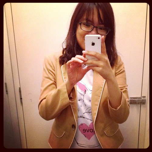 Couldn't resist this blazer :p