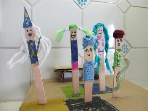 popsicle princesses by loopylocks