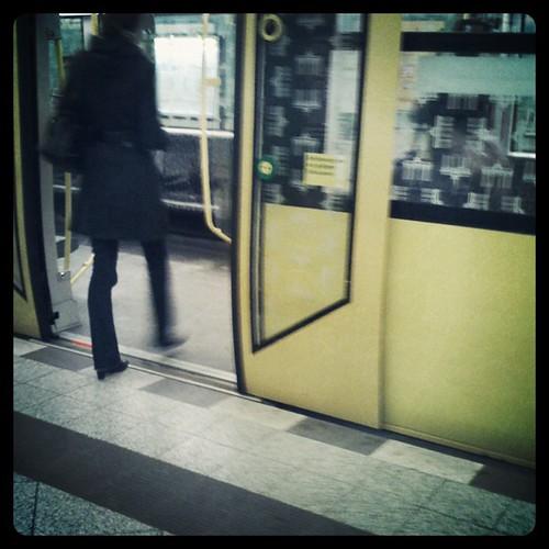fahre gleich U-Bahn. Spannend.