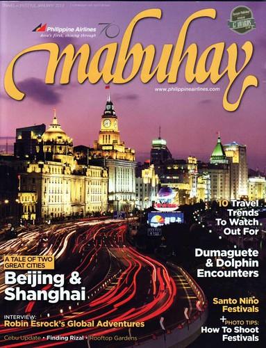 Mabuhay magazine Jan 2012 Shoot