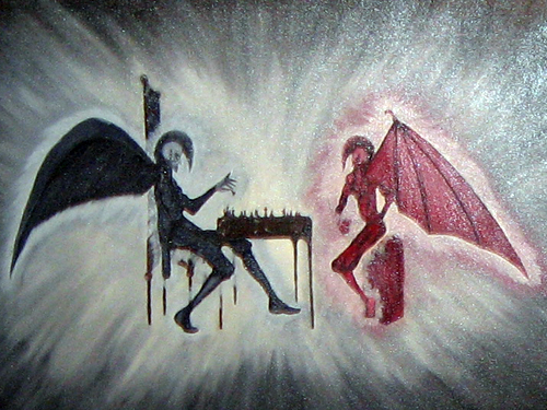 Chess battle ... for your soul