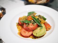Heritage tomato and sherry dressing. Esquina Tapas Bar, Jiak Chuan, Keong Saik, Tanjong Pagar