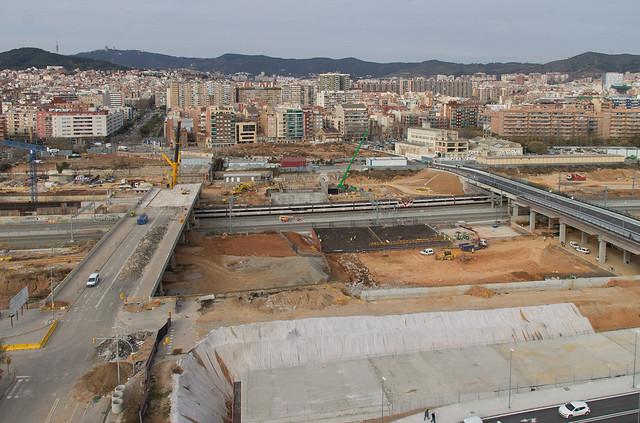 Vista de los dos puentes - 8-02-12