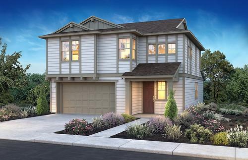 Beach House Plan 1, Elevation A