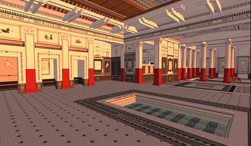 Inside the Pompeii Court