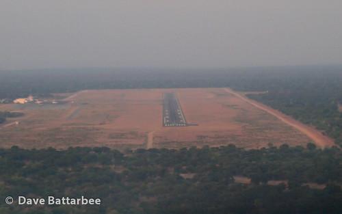 Arrival at Kasane Airport