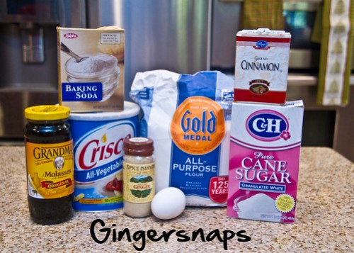 Gingersnap ingredients