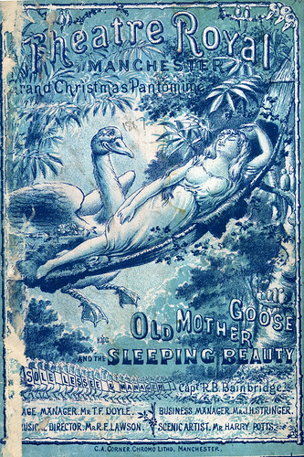 Old Mother Goose and Sleeping Beauty, Theatre Royal, 1887