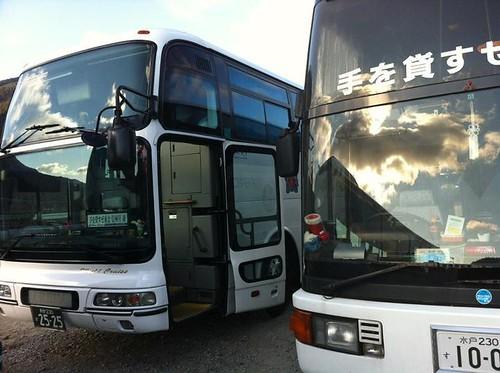 信州号とレーベン二号 (撮影:芦野さん)