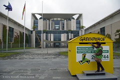 Greenpeace protestiert