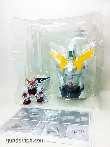 Banpresto Gundam Unicorn Head Display  Unboxing  Review (17)
