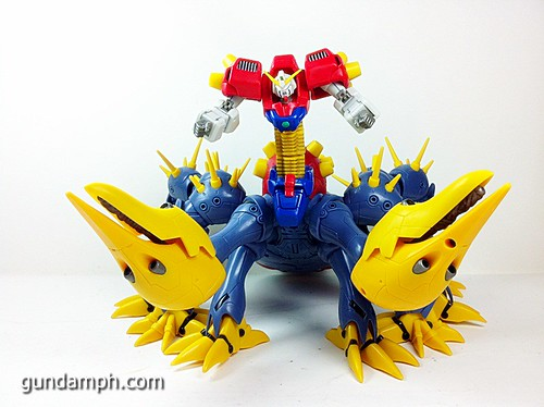 MSIA Devil Gundam First Form Unboxing Review Huge (58)