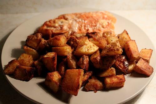 Spicy Fish & Potatoes