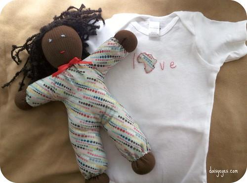 MoM: doll & onesie