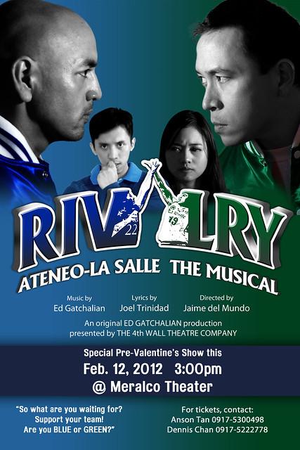 RIVALRY Ateneo Lasalle The Musical