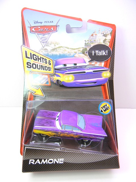 disney cars 2 lights and sounds ramone